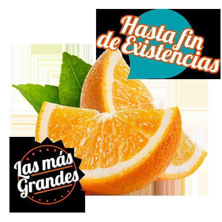 naranjas de mesa premium calibre superior
