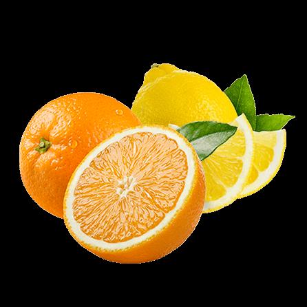 naranjas de zumo-limon