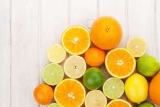 zumo de naranja y limón