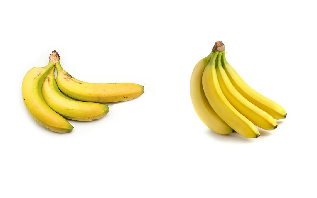diferencia entre plátano y banana