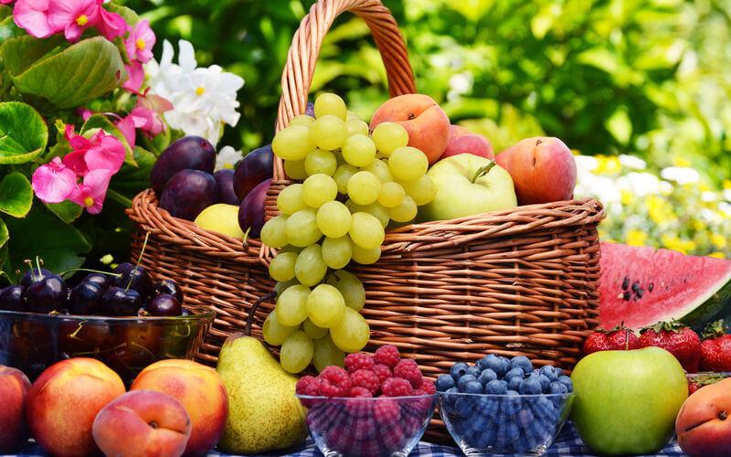 Frutas de Verano: Vitaminas y salud fuerte