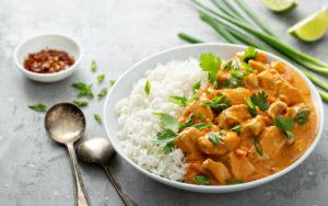 Arroz con Pollo al Curry 1