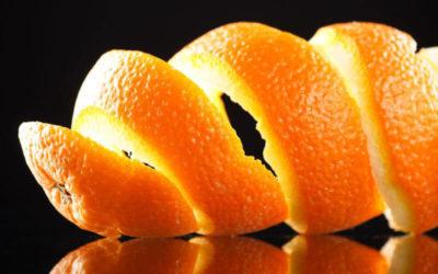 Propiedades de la cáscara de naranja