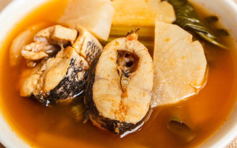 Arroz caldoso de pescado