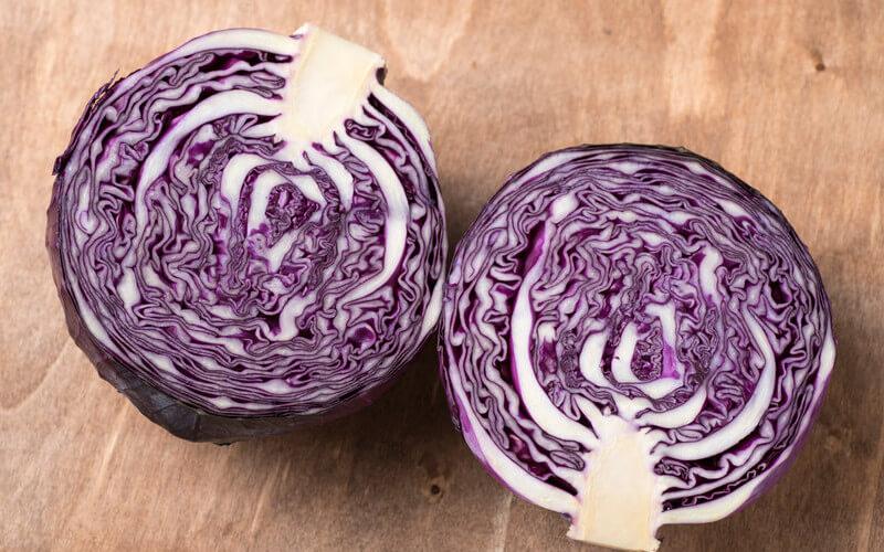 verduras con hierro