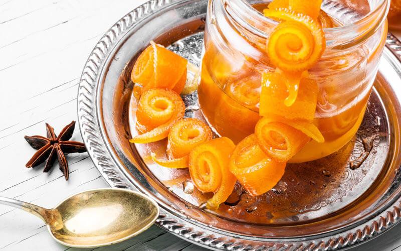 Almíbar de Naranja